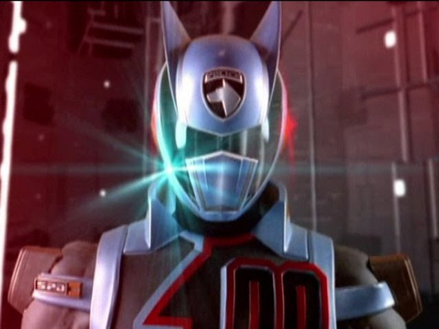 Power Rangers S.P.D. - All Shadow Ranger Morphs (Doggie Cruger)