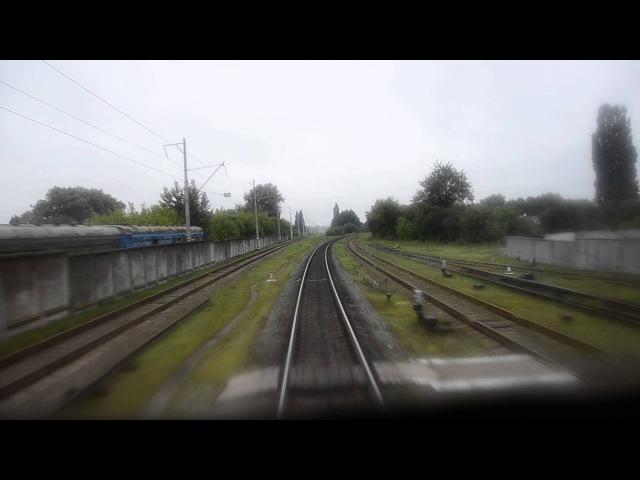 Прибуття на станцію Житомир із Коростеня