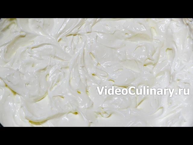 Сметанный крем из нежирной 25-процентной сметаны – рецепт Бабушки Эммы