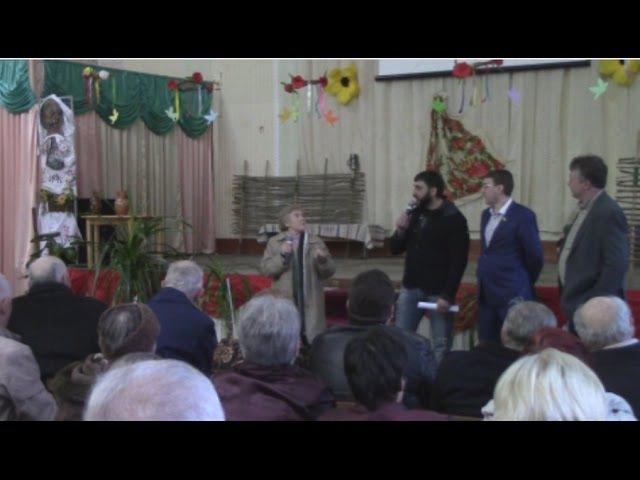 Николаевские оппозиционеры отчитались о своей работе перед жителями Намыва