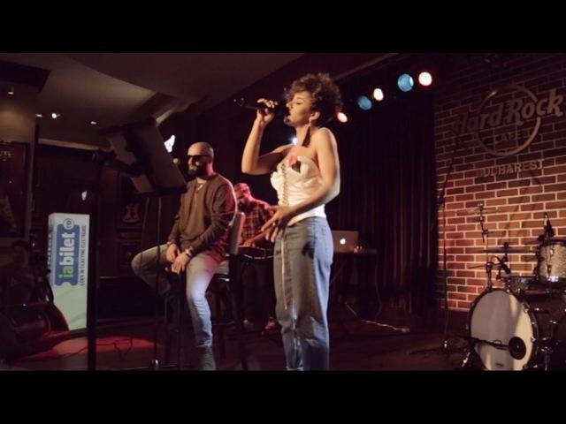 Nicoleta Nuca feat. NOSFE - Insula   Live @ Hard Rock Cafe