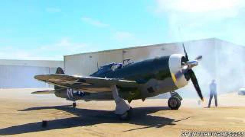 Рипаблик P-47 «Тандерболт» — истребитель-бомбардировщик времен Второй мировой войны