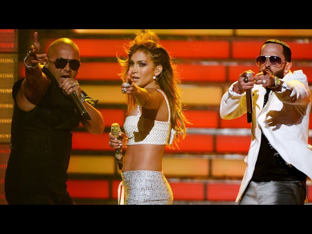 Jennifer Lopez Goin' In Follow The Leader feat Wisin y Yandel Live American Idol