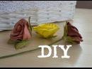 Цветы из фоамирана | Зелень для розы (чашелистик) /Flowers foamiran | Green for the rose (sepal)