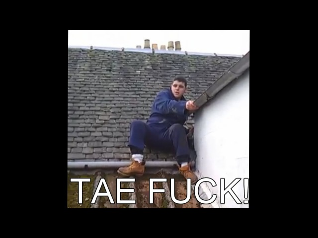 Harry The Scottish Man Stuck on a Roof (Funny Subtitled Version)