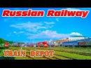 TCH 7 Train depot Vladivostok ТЧ 7 Моторвагонное депо Первая Речка Владивосток ДВЖД