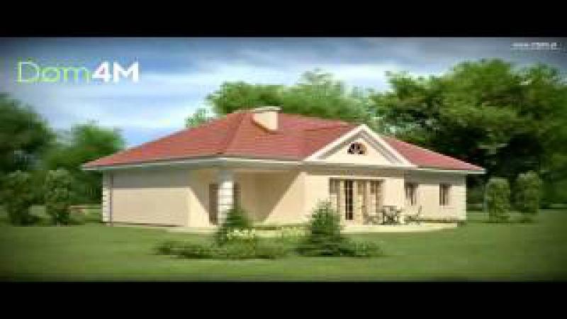 4M162 Проект дома в благородном стиле дворянской усадьбы