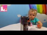Божьи коровки или Жуки Феромагнитные в банках распаковка игрушек Magnetic brothers crawling toy