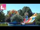 Детский парк развлечений Поездка в парк аттракционов Парк Победы Одесса Катаемся на лодке влог