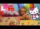 Киндеры Хелло Китти новая коллекция Киндер Сюрприз для девочек игрушки Kinder Surprise Hello Kitty