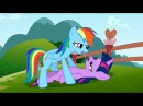 My Little Pony Unseen Cut: Rainbow Dash X Twilight Sparkles Lesbian Kissing Scene