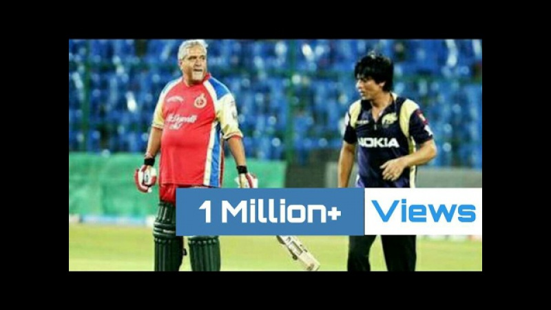 King Khan Vs Vijay Mallya Full Match | When Rich People Play Cricket | RCB vs KKR
