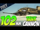 Italy's FLYING TANK 102mm P 108A Serie 2 War Thunder Italian Planes Gameplay