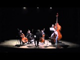 J.S. Bach Chaconne for four double basses and octobass