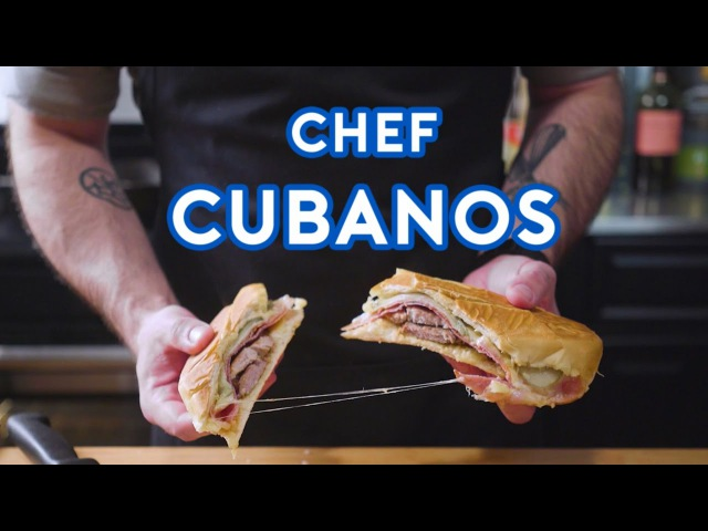 Binging with Babish Cubanos from Chef