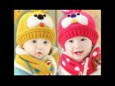 Вязаные шапочки для детей. Кnitted hats for children.