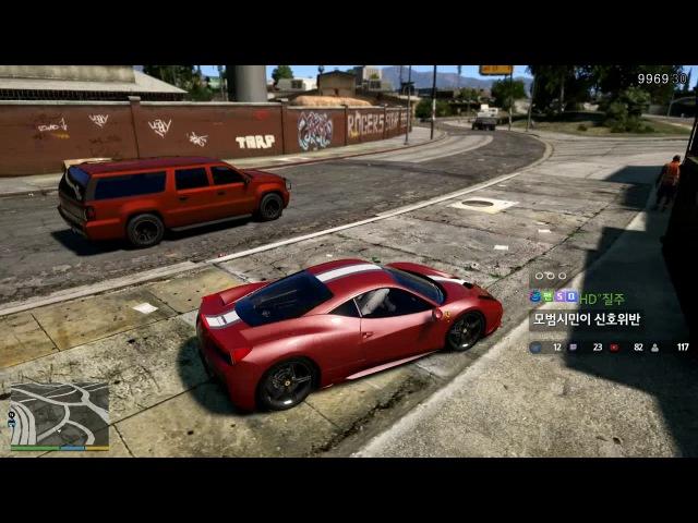 [200화]GTA5:일상생활 GTA5:Everyday life 페라리팩 모음집[장파]