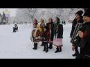 Спільна коляда біля ялинки у м.Новояворівськ 14 01 2017р