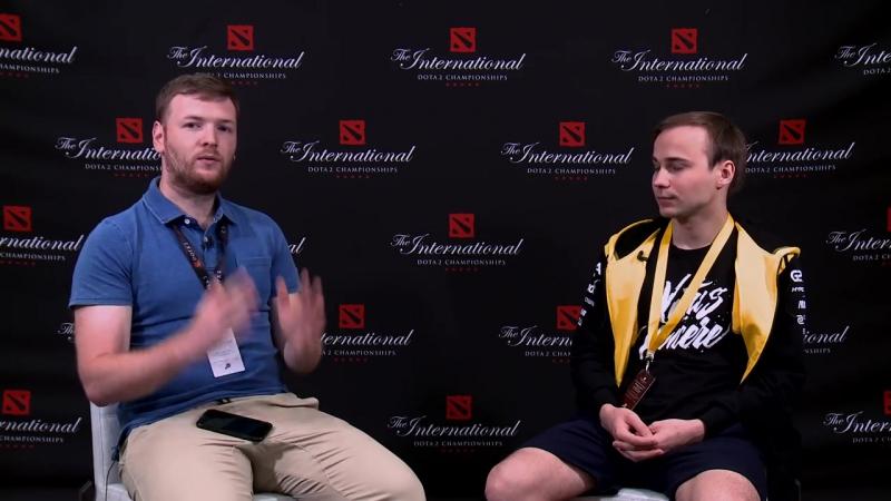 Интервью с Dmitrii Ditya Ra Minenkov @TI6