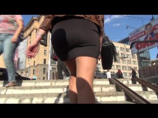 SEXy Girl in Mini Skirt !!! Сексуальная девушка в короткой мини юбке !!!