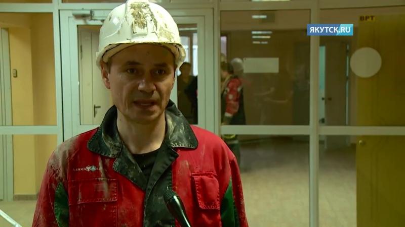Замминистра по ЧС Владлен Аксенов лично принял участие в разведке горизонтов на руднике «Мир»