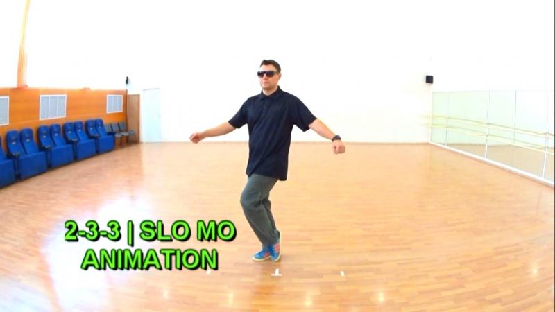 Animation practice | 2-3-3 | Slo Mo pattern
