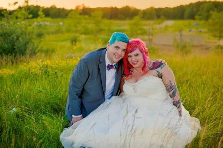FFScQOcDCbw - Цвет вашей свадьбы (22 фото)