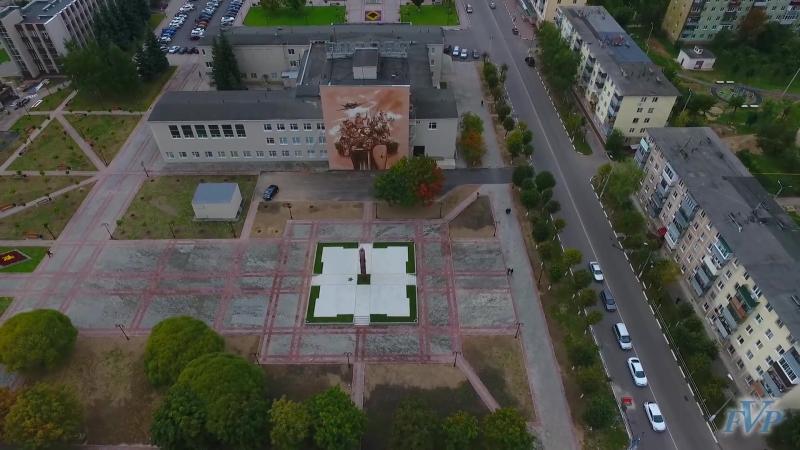 Стела - Серпухов - город воинской славы.