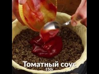 Аху**нный пирог-чизбургер