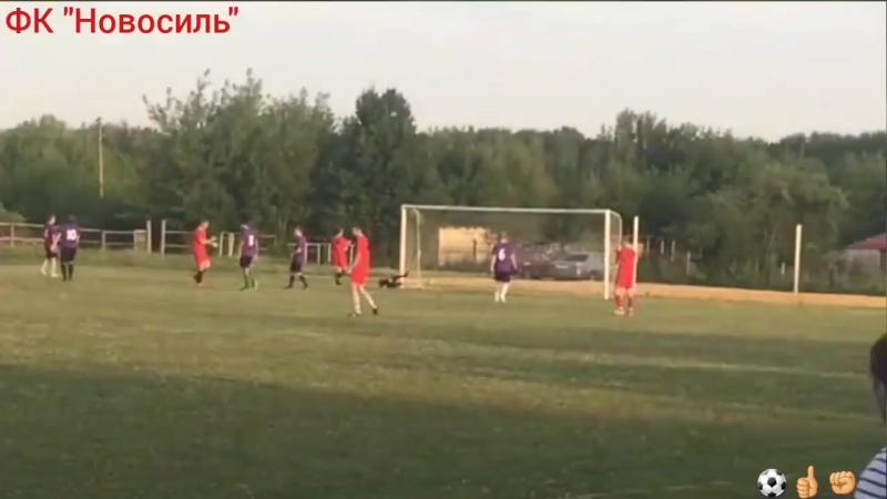 Несколько мячей из матча против Малоархангельска!