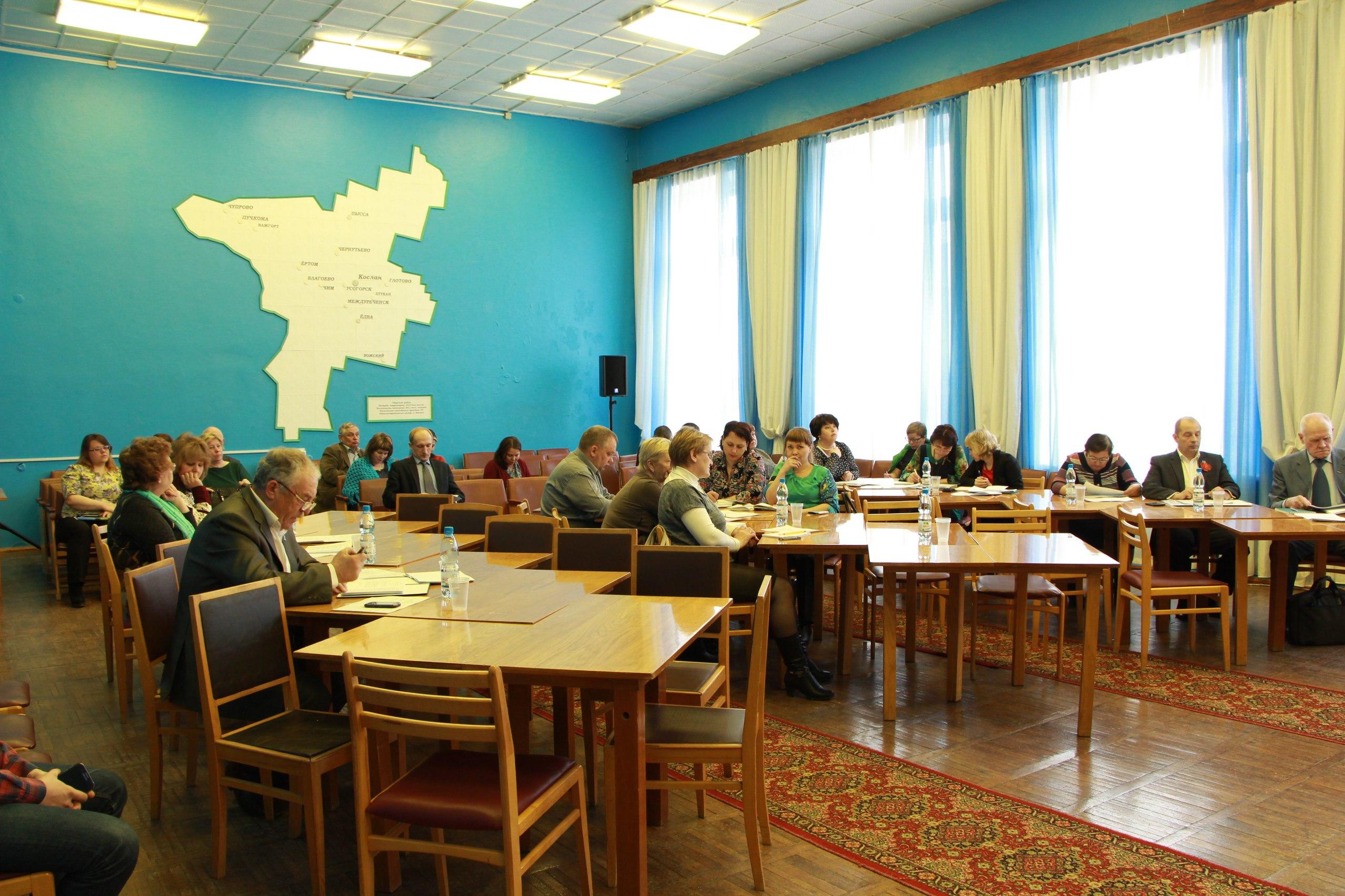 10 марта состоялось заседание Совета МР «Удорский»