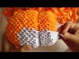 Модульное оригами. Кот из модулей....Будет очень интересно)))