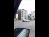 Пожар в пустующем общежитие на Комсомольской, 206