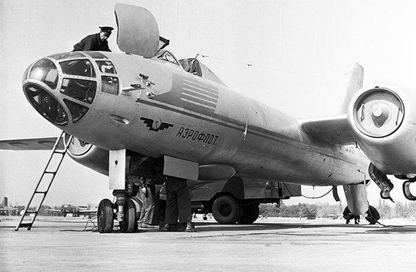 Ил-28 — первый реактивный бомбардировщик России