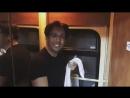 Максим Галкин снял пародию на Малышеву в туалете поезда