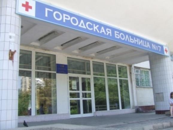 В симферопольской городской больнице №7 отремонтировали крышу