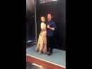 Дженнифер и Колин позируют для фотосессии EW