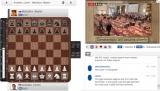 Maxim Matlakov is crumpling into a plane under Levon Aronian's pressure