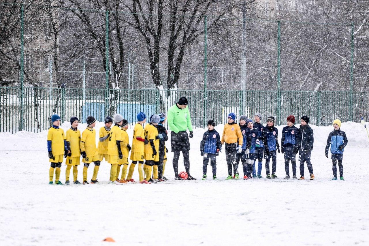 ДЮСШ «Витязь» (Подольск) во второй игровой день в Зимнем Первенстве Москвы одержал три победы