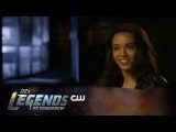 DCs Legends of Tomorrow | Maisie Richardson Sellers Interview | The CW