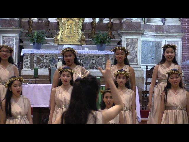 Ave Maria, Franz Biebl, The Resonanz Children's Choir, Indonesia