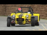 LOUD Caterham Seven 620R Driven Fast at Goodwood FOS 2017