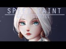 Speed paint White princess Paint tool sai Lulybot