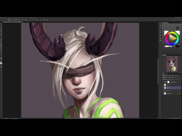 Astri Lohne — Demon Hunter (World of Warcraft) | Speedpaint