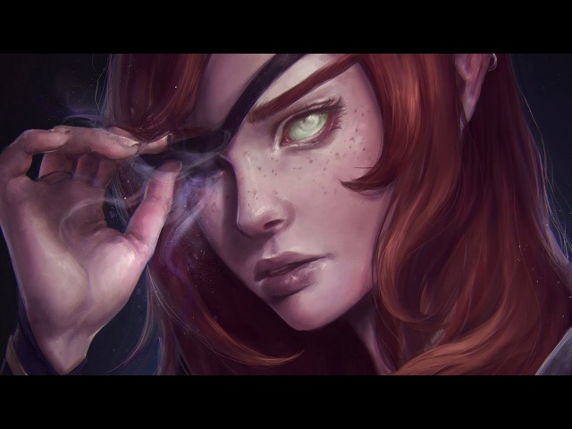 Astri Lohne — Serenity | Digital Painting Process