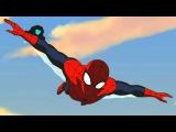 Великий Человек-Паук. Все серии подряд Сборник мультфильмов Marvel о супергероях. С...