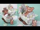 How to Make 3-D Baby Cradle Cookies