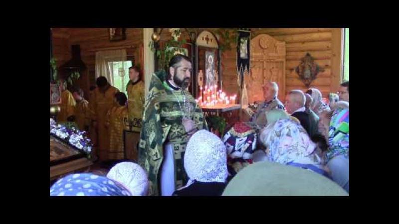Проповедь протоиерея Михаила Бравермана на праздник Святой Троицы 04.06.17