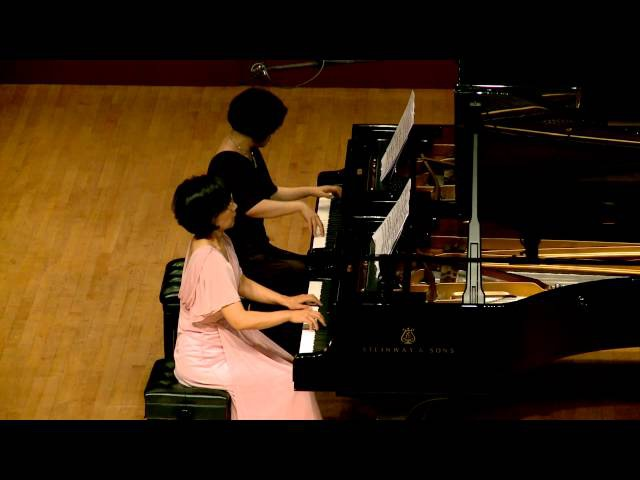 141017 1 W A Mozart E grieg Sonata in C Major for 2 pianos 4 hands K 545 -이선경,윤영화