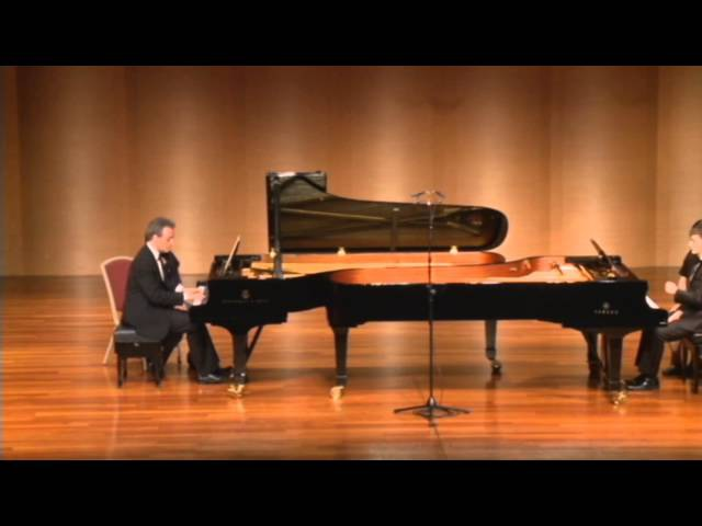 MultiPiano in the Far East - Mozart-Grieg - Sonata K. 545 for 2 Pianos